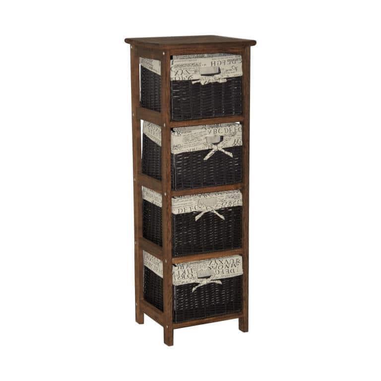 мебель из ротанга Комод деревянный (4)