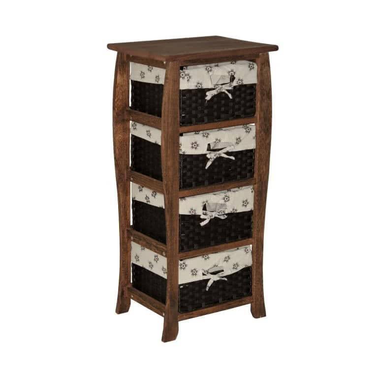 мебель из ротанга Комод деревянный