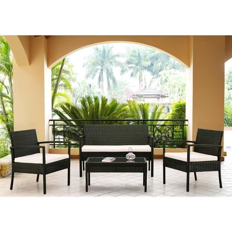 мебель из ротанга Комплект кофейный