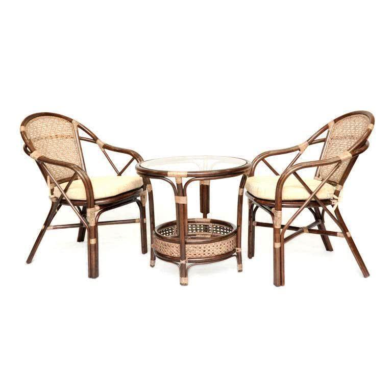 мебель из ротанга Комплект кофейный Ellena-2 Б