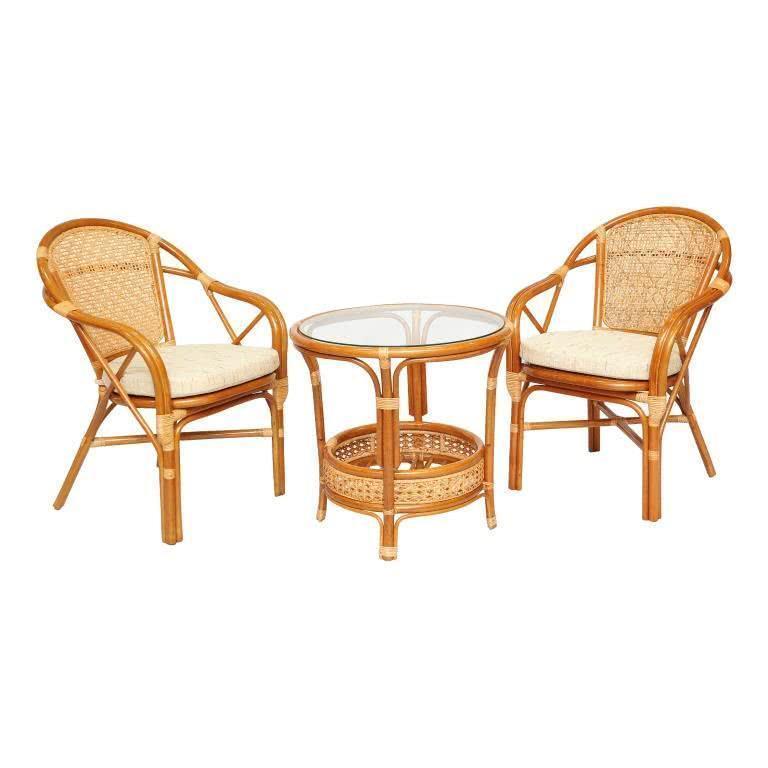 мебель из ротанга Комплект кофейный Ellena-2 К