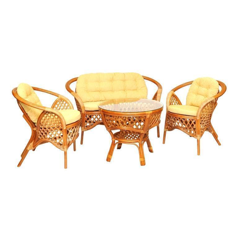мебель из ротанга Комплект кофейный Melang
