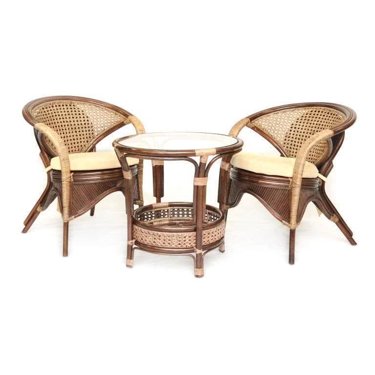 мебель из ротанга Комплект кофейный Rainbow-2 Б