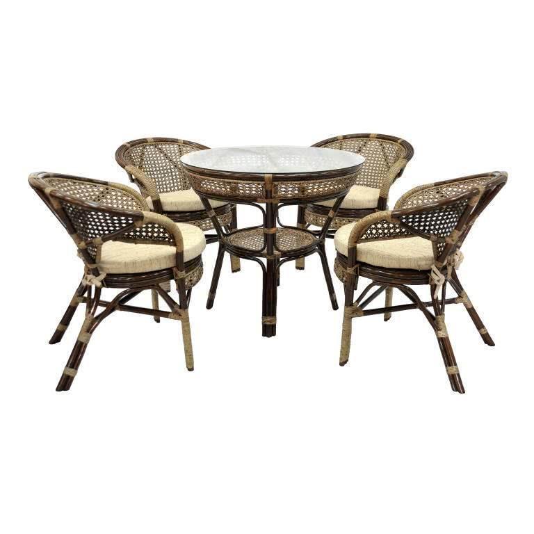 мебель из ротанга Комплект обеденный Java-2 Б