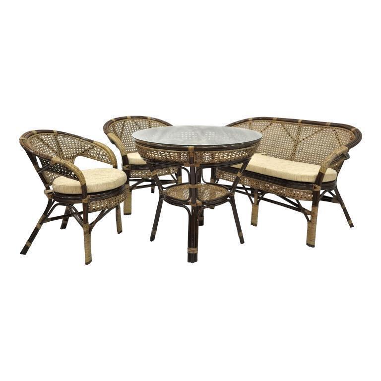 мебель из ротанга Комплект обеденный Java-3 Б