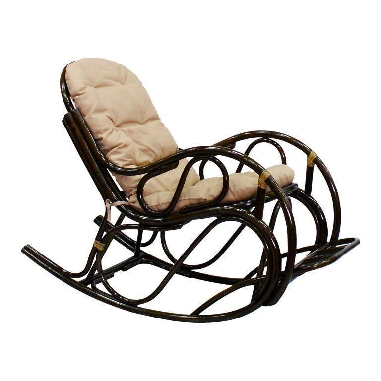 мебель из ротанга Кресло-качалка с подножкой Promo