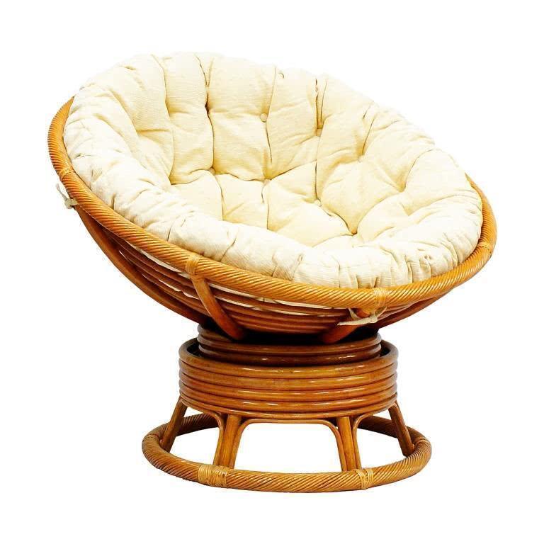 мебель из ротанга Кресло механическое Papasan 23/01В К Lam
