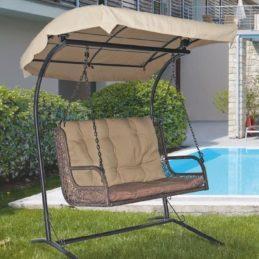 мебель из ротанга Кресло подвесное для двоих Twin