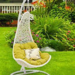 мебель из ротанга Кресло подвесное Wind White