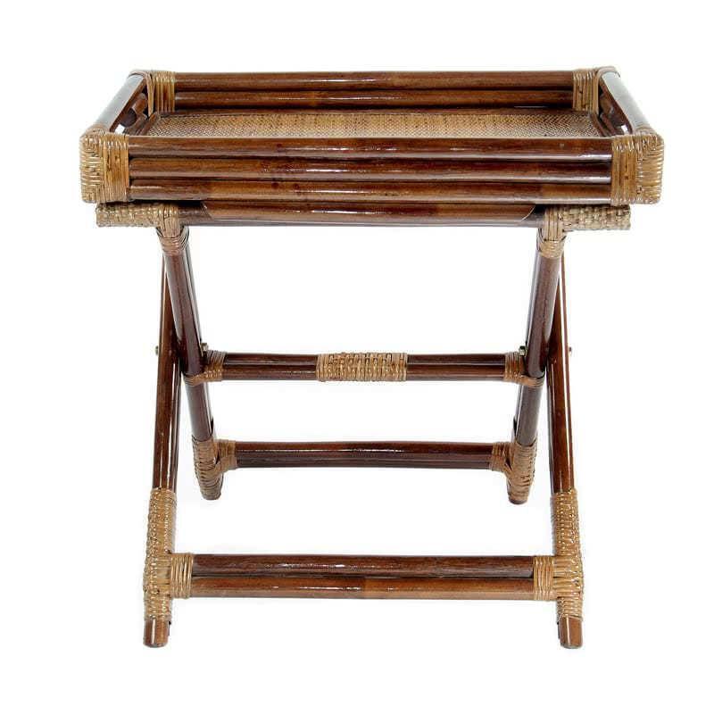 мебель из ротанга Столик складной с подносом