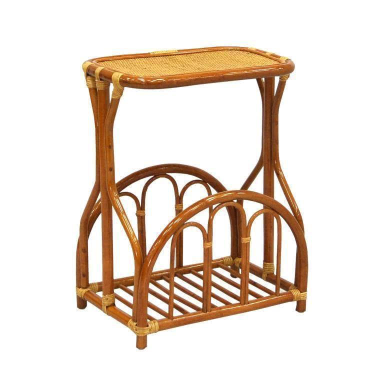 мебель из ротанга Столик с подставкой для газет