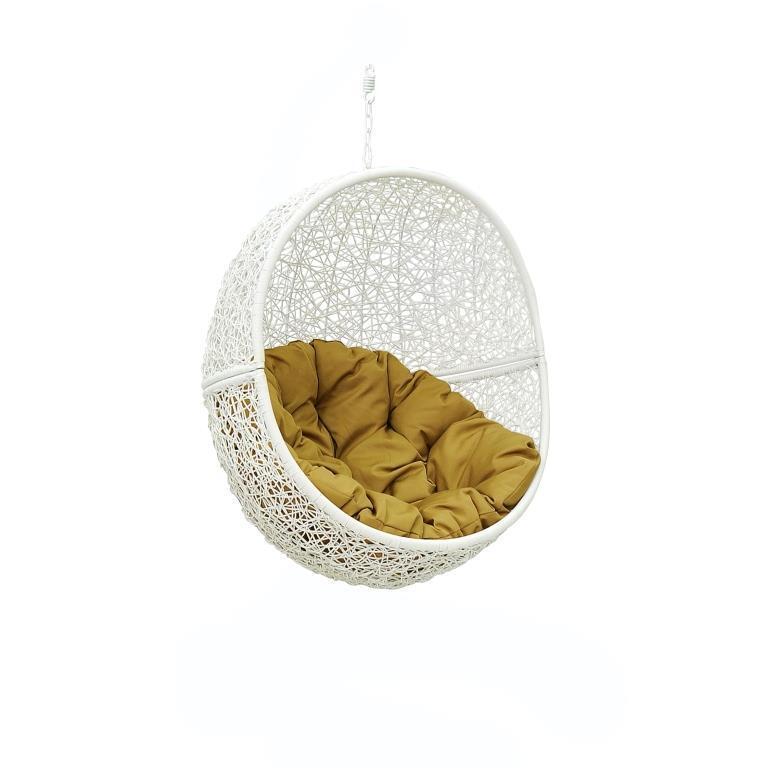 мебель из ротанга Чаша с подушкой Lunar White