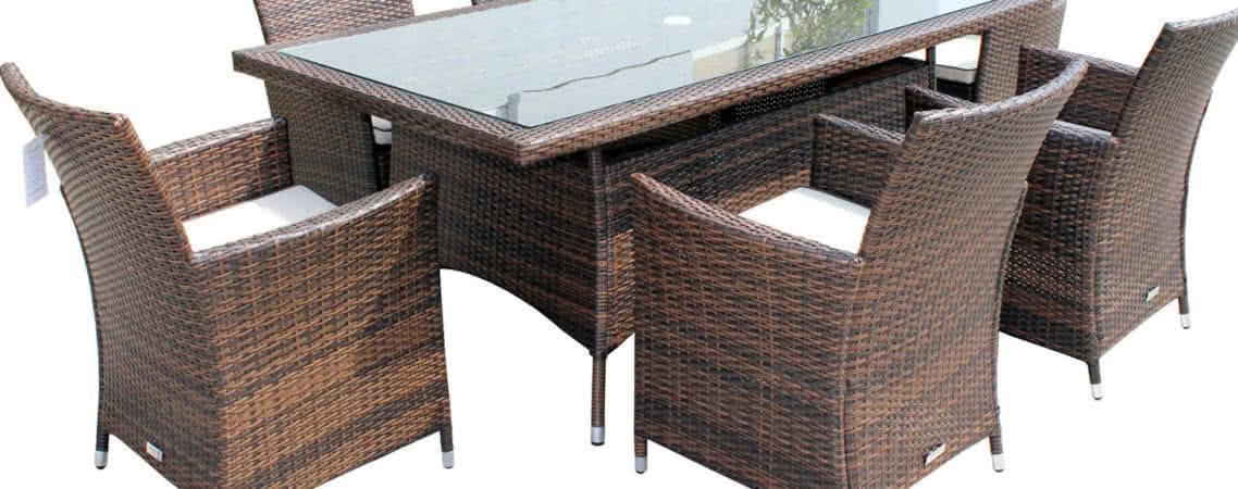 Преимущество покупки, места расположения и уход за ротанговой мебелью