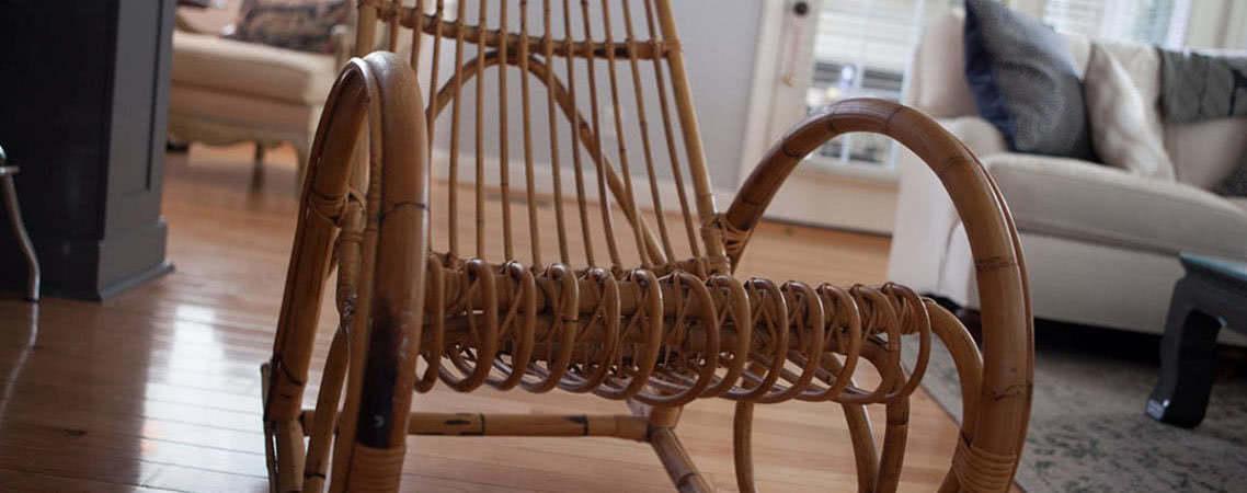 Плетеное кресло-качалка – роскошь и уют