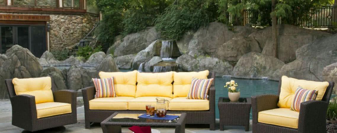 Своеобразие форм и необычные стилевые решения ротанговой мебели