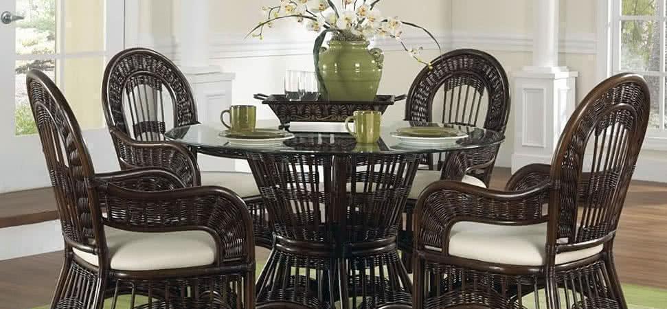 Плетеные кресла и стулья из ротанга