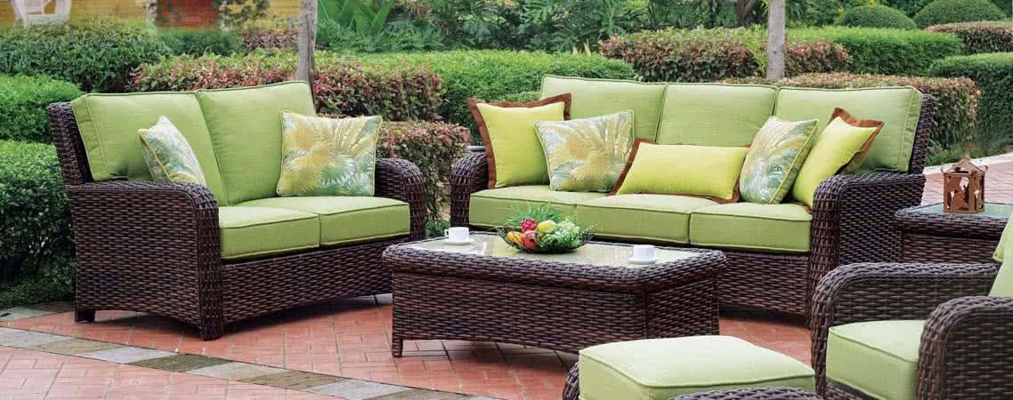 Плетеная мебель: комфорт и оригинальность